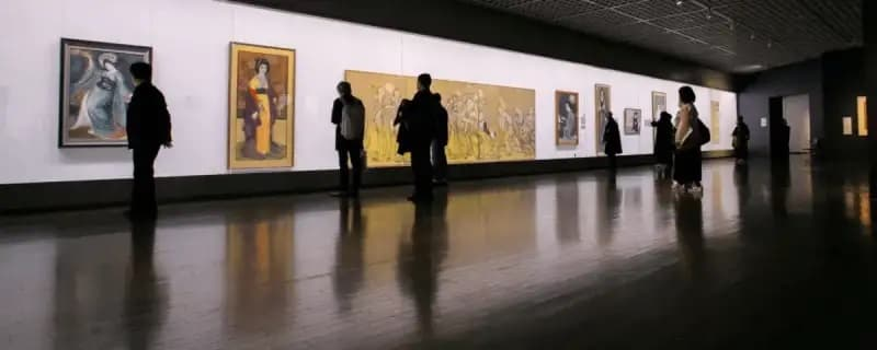 REPORT ON A PAINTING EXHIBITION