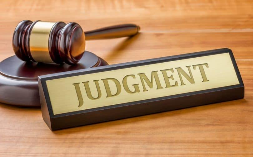 ROSAN GIRARD JUDGMENT