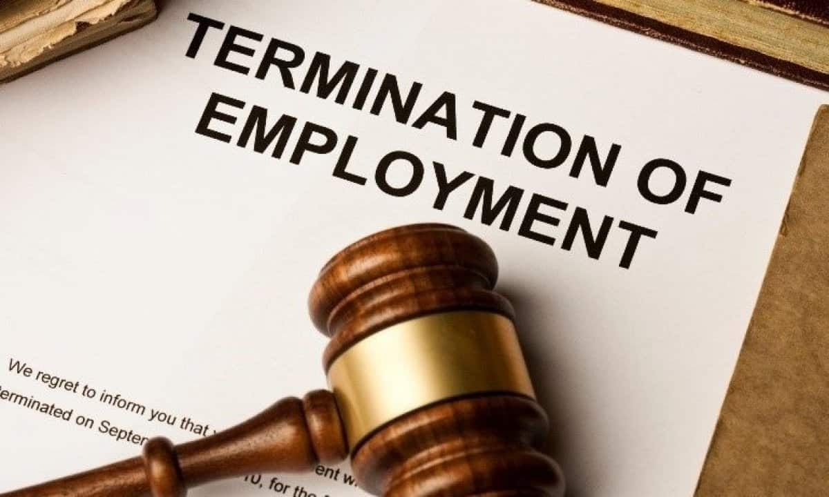 Section 3 Notification of dismissal