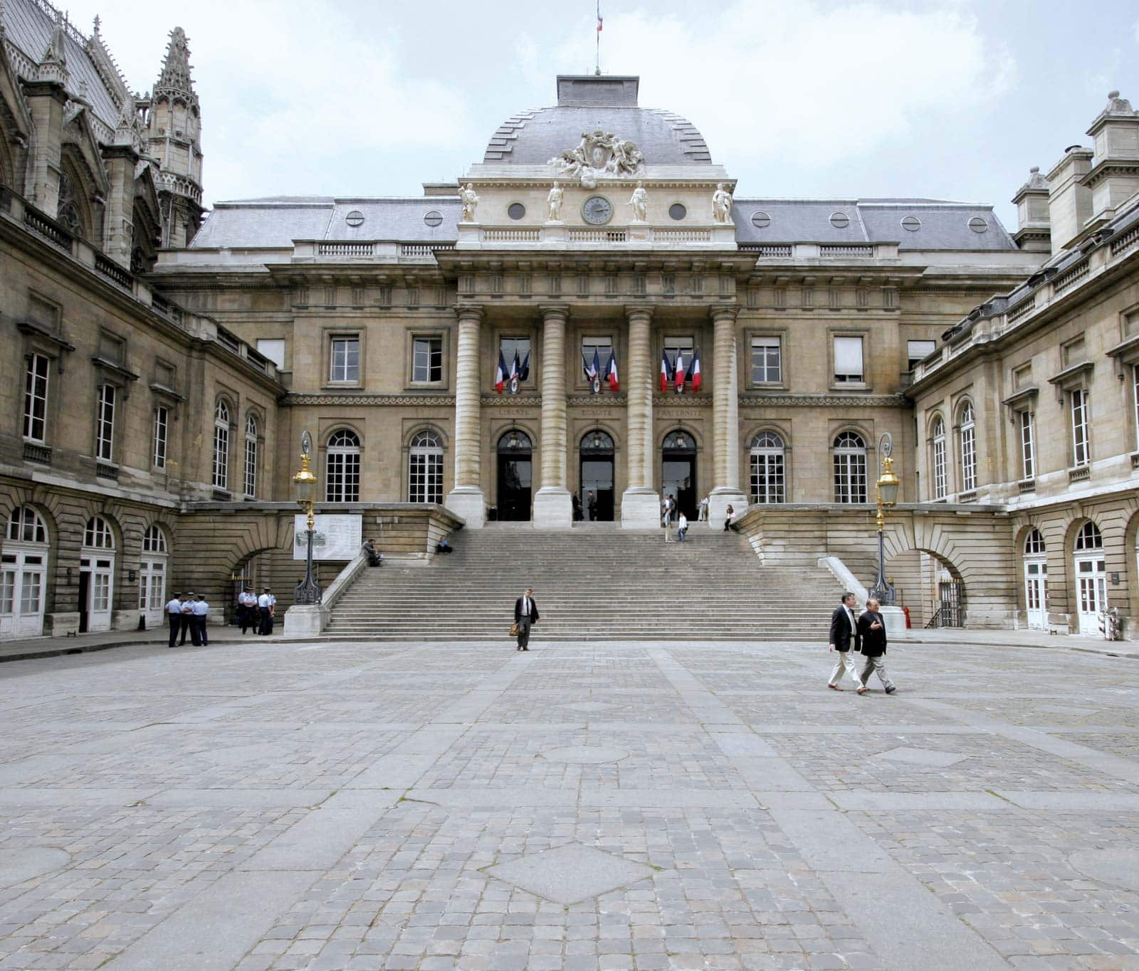 The Court of Cassation is the highest court in the French judiciary. Civil, commercial, social or criminal cases are first ruled upon by courts of first instance