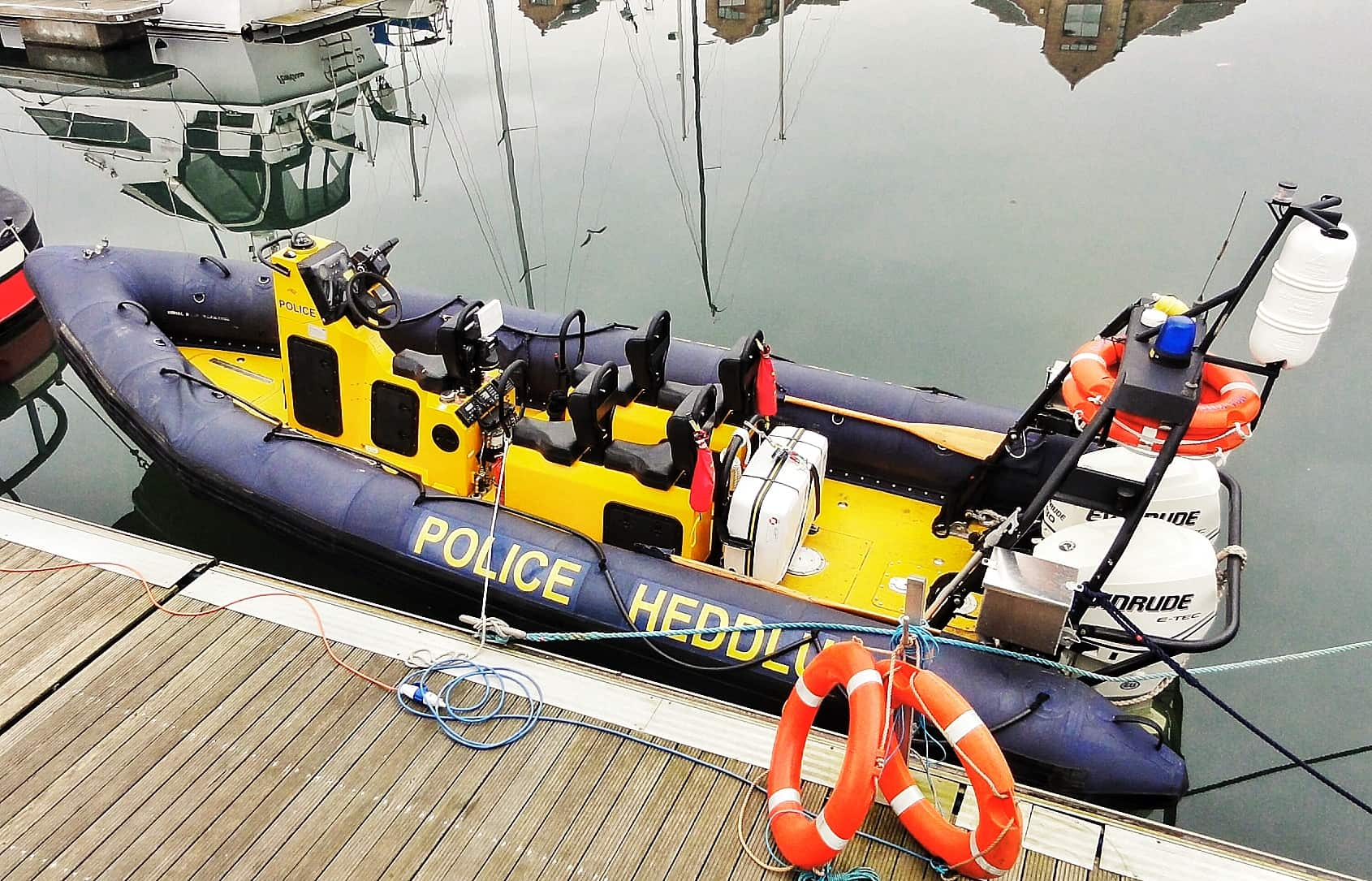 WATER POLICE AND CONSERVATION