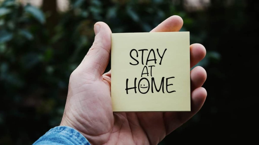 20th March The first stay at home order