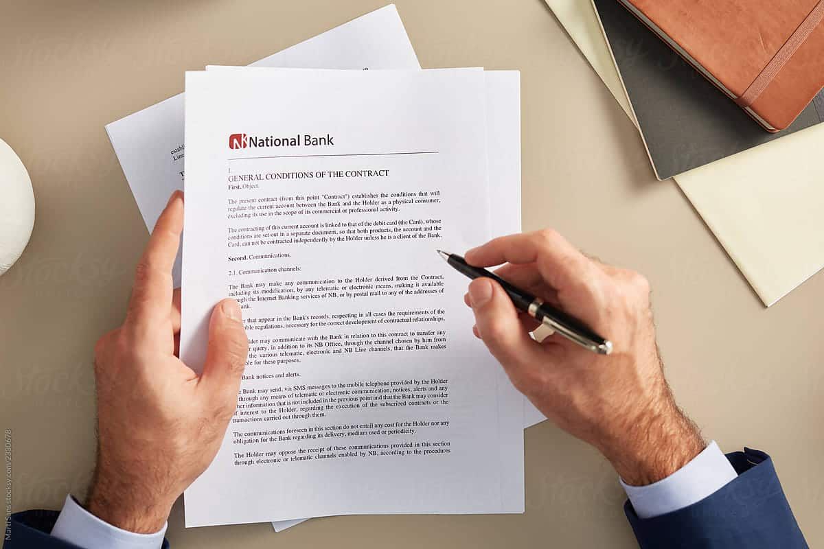 Banking Contracts