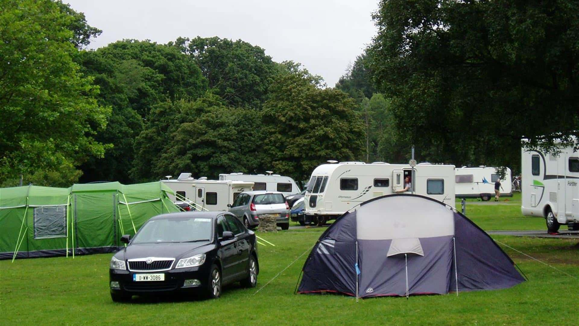 CAMPING AND PARKING OF CARAVANS