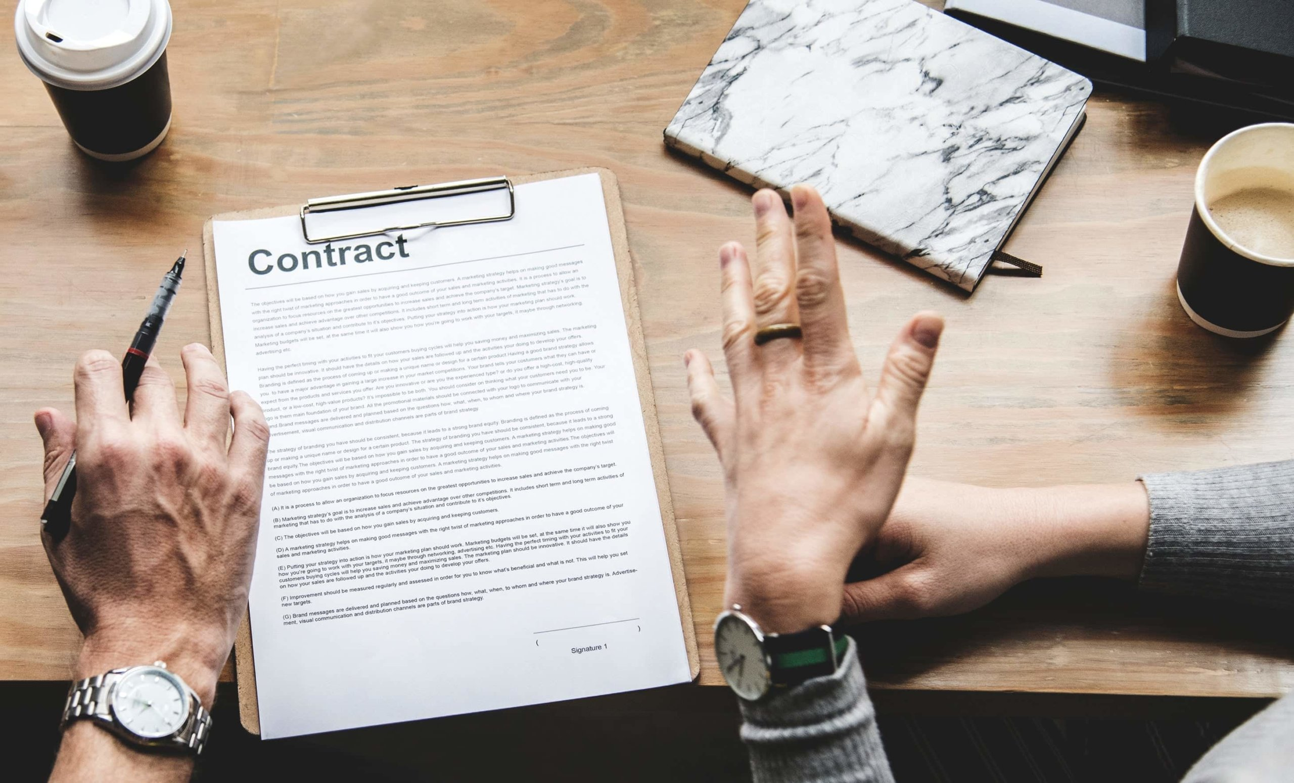 Definition Of The Contract