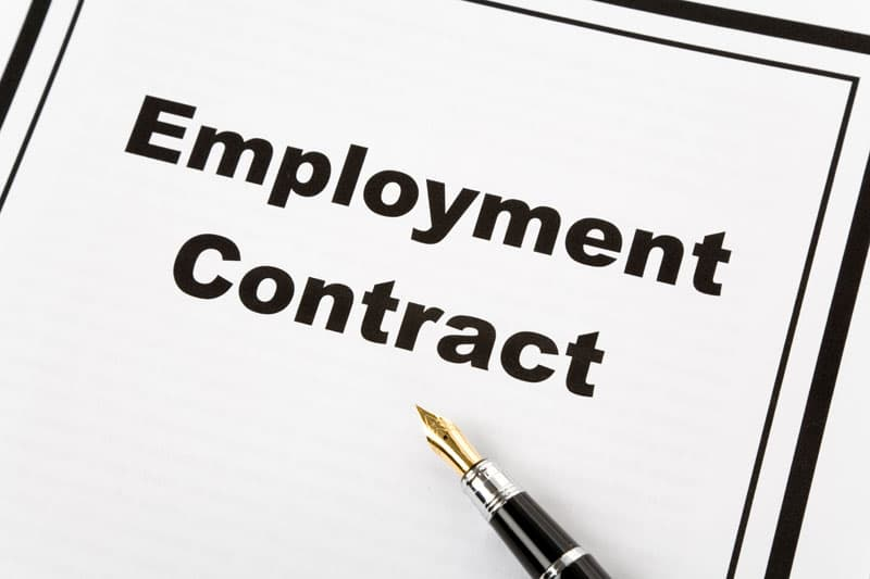 EMPLOYMENT CONTRACT, TERMINATION