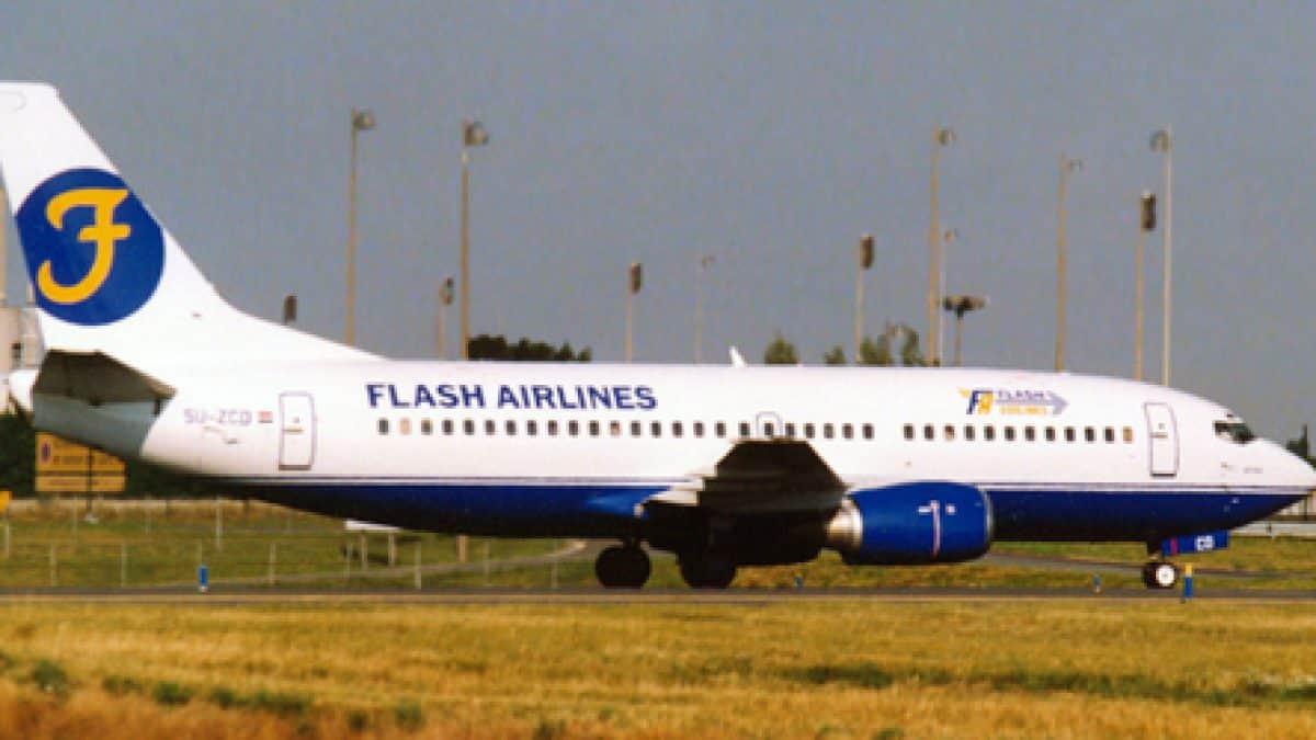 FLASH AIRLINES FLIGHT