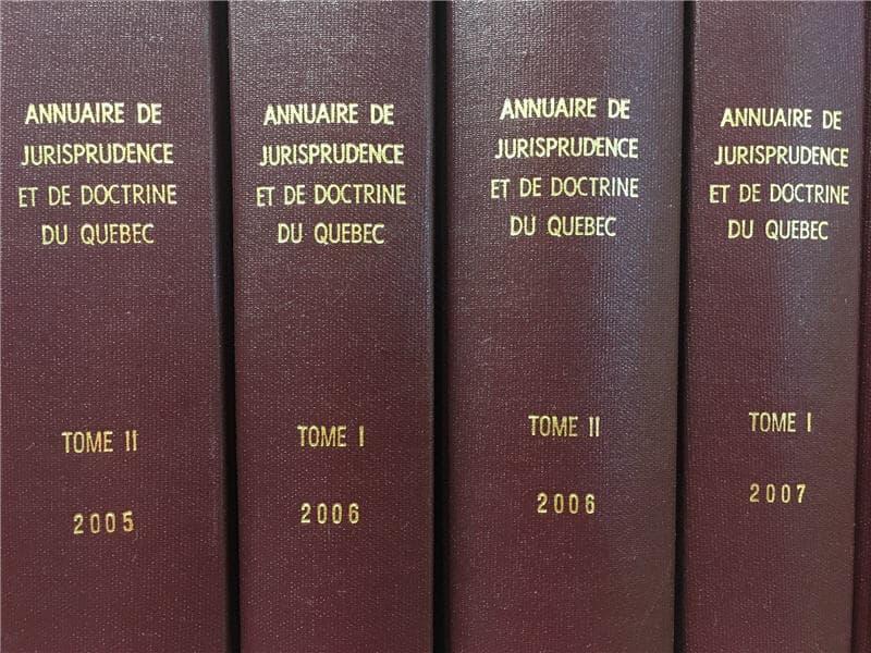 JURISPRUDENCE 2005 to 2017(1)