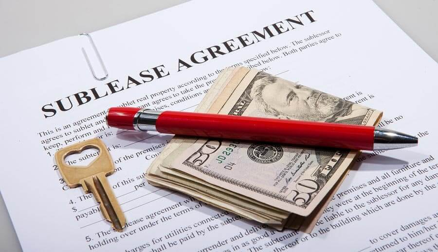 ASSIGNMENT AND SUB-LEASE
