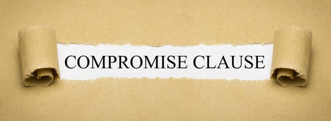COMPROMISE CLAUSE