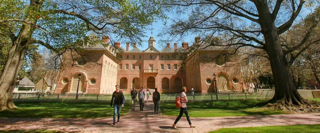 William and Mary Law School campus