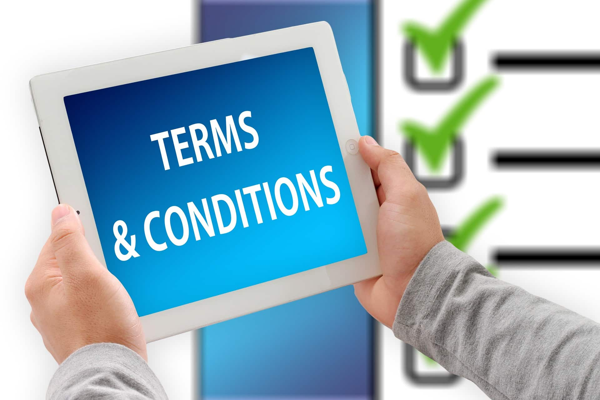 Conditions Different From The General Conditions Of Sale
