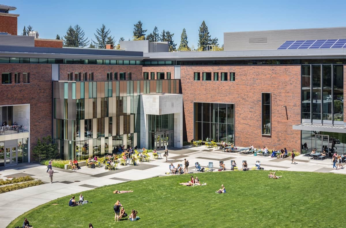 The University Of Oregon And Its Campus