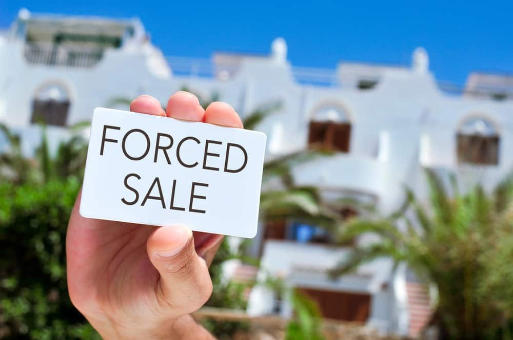FORCED SALE